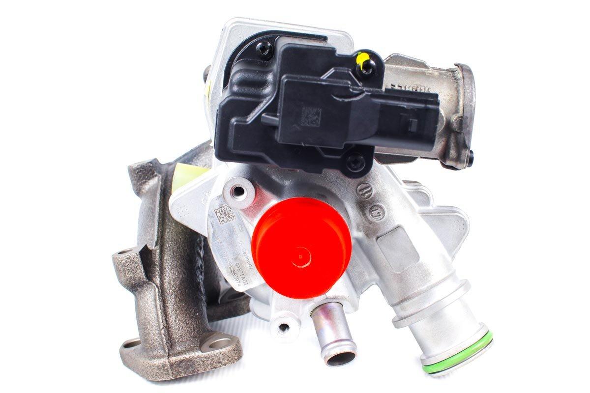 Turbosprężarka o numerze {numerglowny} po regeneracji w najnowocześniejszej pracowni regeneracji turbo przed odesłaniem do zamawiającej firmy