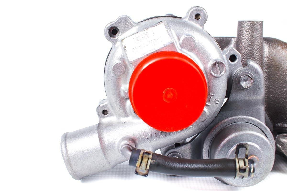 Turbosprężarka z numerem {numerglowny} po regeneracji w profesjonalnej pracowni regeneracji turbo przed odesłaniem do zamawiającej firmy