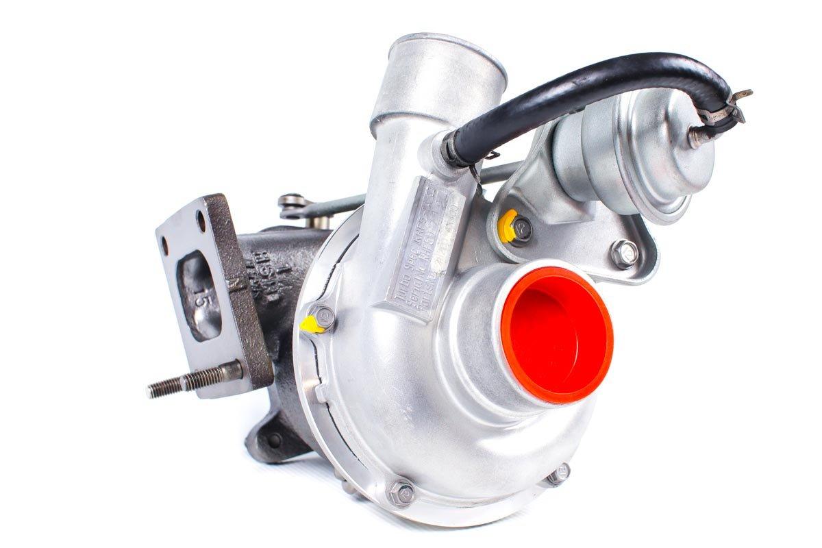 Turbosprężarka z numerem {numerglowny} po regeneracji w profesjonalnej pracowni regeneracji turbin przed wysyłką do Klienta