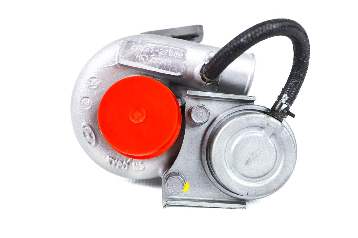 Turbosprężarka o numerze {numerglowny} po regeneracji w specjalistycznej pracowni regeneracji turbo przed odesłaniem do Klienta