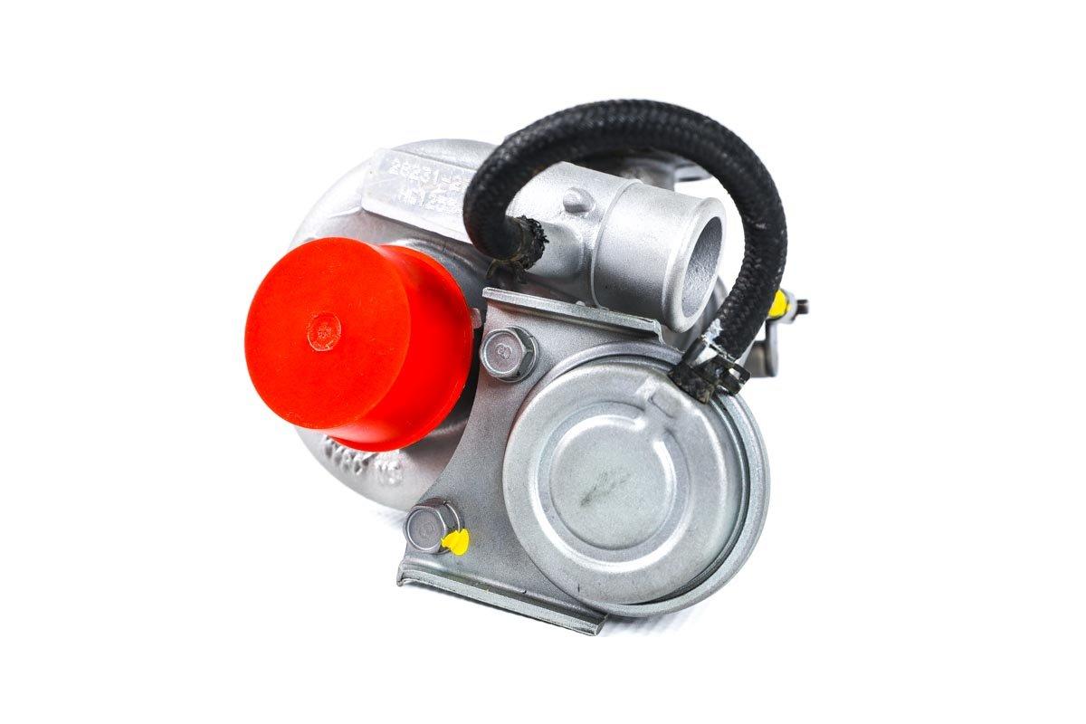 Turbosprężarka z numerem {numerglowny} po regeneracji w profesjonalnej pracowni regeneracji turbin przed wysyłką do warsztatu samochodowego