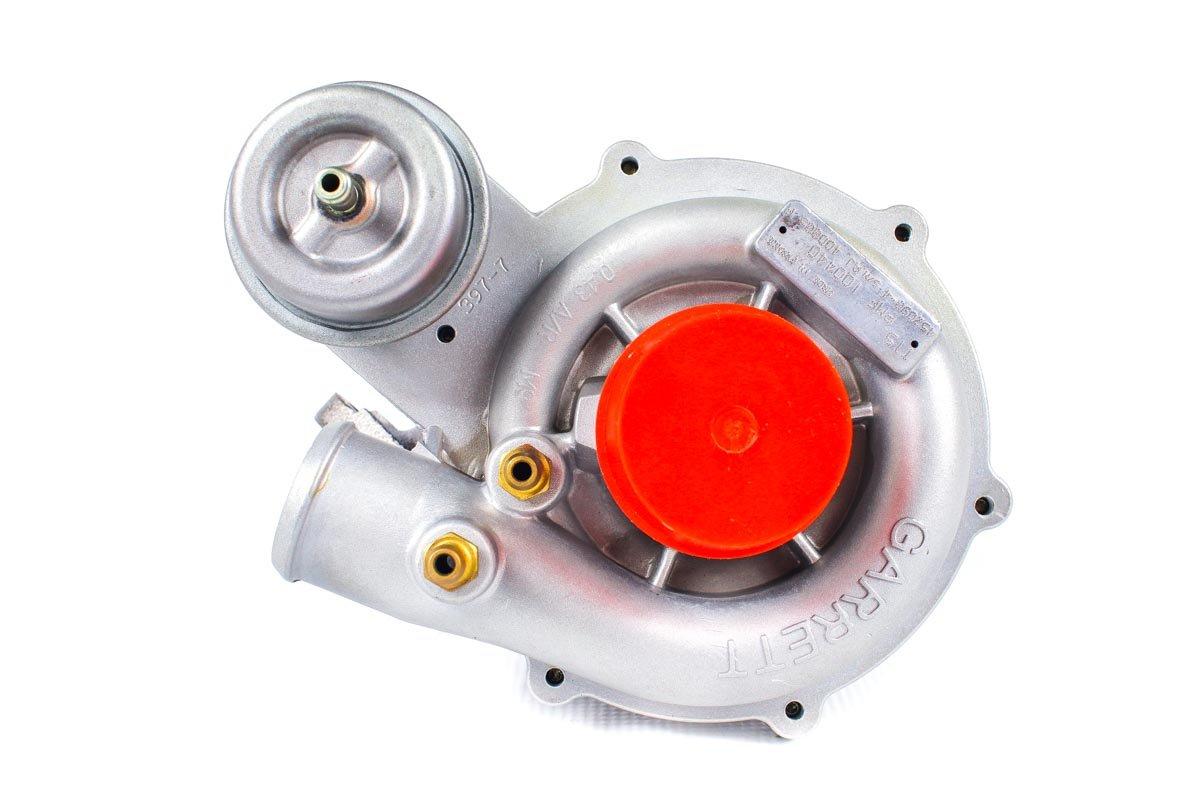 Turbosprężarka o numerze {numerglowny} po regeneracji w specjalistycznej pracowni regeneracji turbin przed wysłaniem do zamawiającej firmy