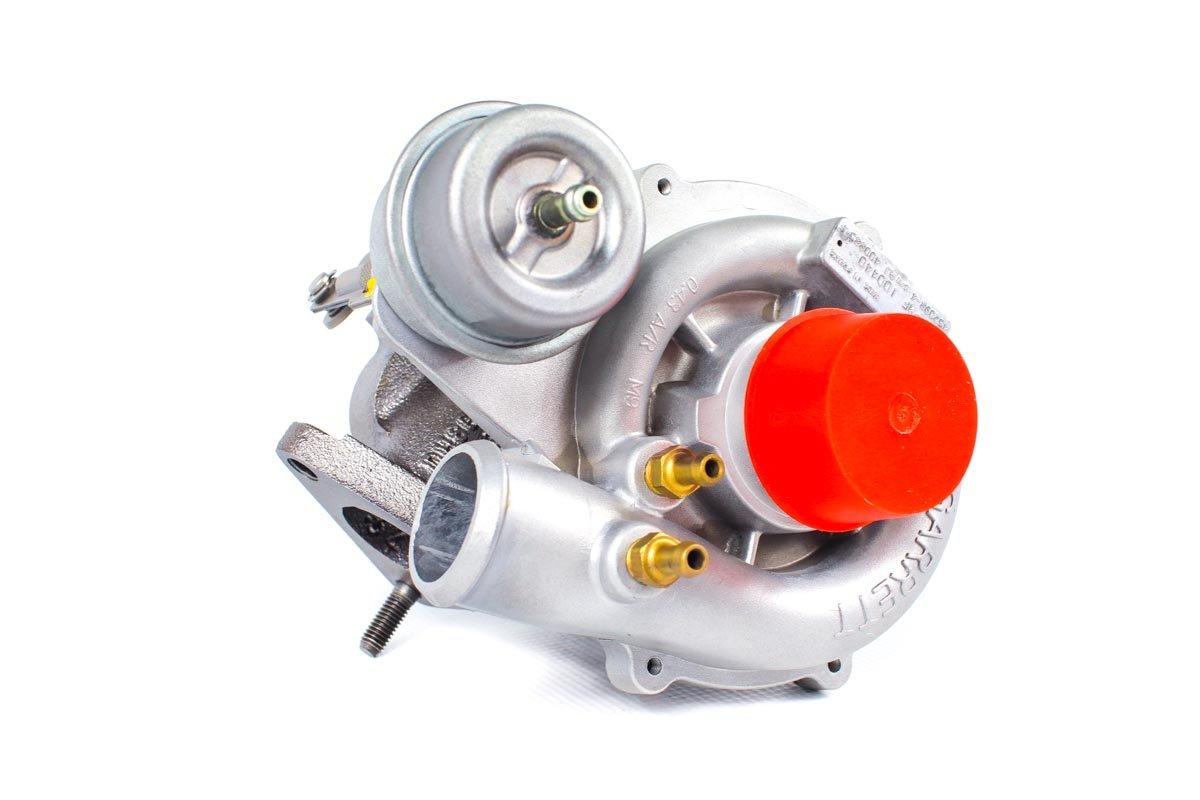 Turbosprężarka z numerem {numerglowny} po regeneracji w profesjonalnej pracowni regeneracji turbin przed odesłaniem do zamawiającej firmy