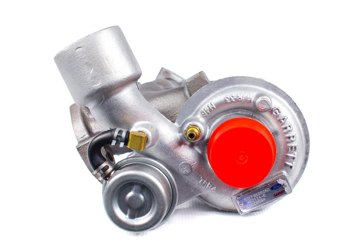Turbosprężarka o numerze {numerglowny} po regeneracji w specjalistycznej pracowni regeneracji turbin przed odesłaniem do Klienta