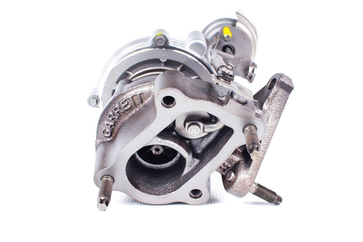 Turbosprężarka z numerem {numerglowny} po regeneracji w najwyższej jakości pracowni przed nadaniem do warsztatu samochodowego