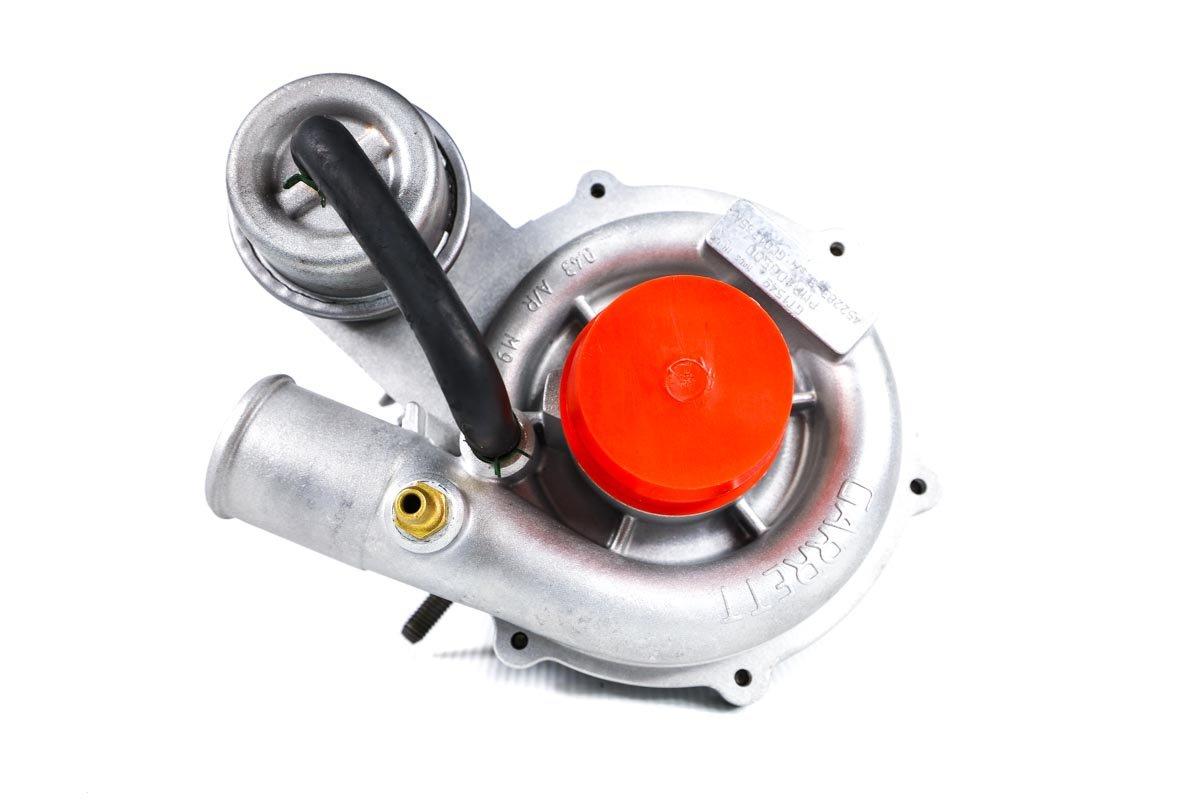 Turbosprężarka o numerze {numerglowny} po regeneracji w profesjonalnej pracowni przed wysyłką do zamawiającej firmy