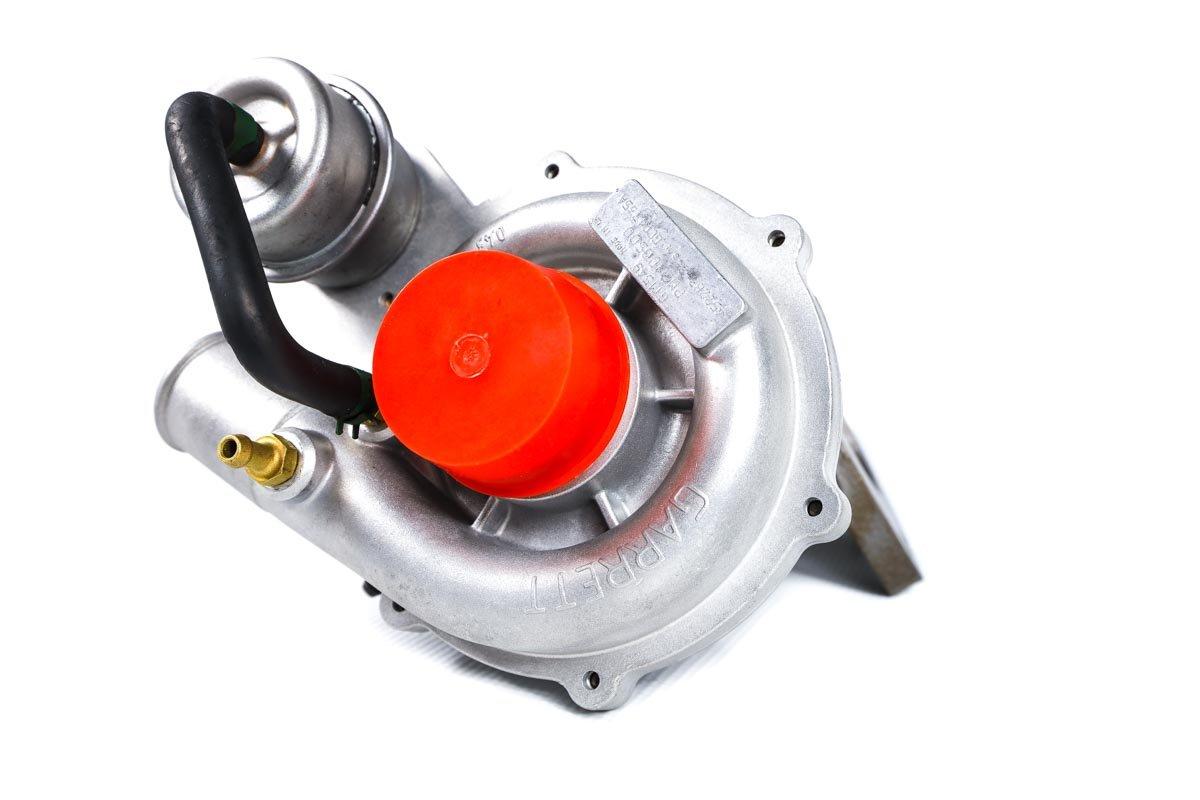 Turbosprężarka z numerem {numerglowny} po regeneracji w najwyższej jakości pracowni przed nadaniem do zamawiającej firmy