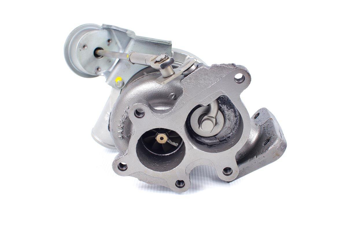 Turbosprężarka z numerem {numerglowny} po regeneracji w najwyższej jakości pracowni regeneracji turbosprężarek przed odesłaniem do warsztatu samochodowego
