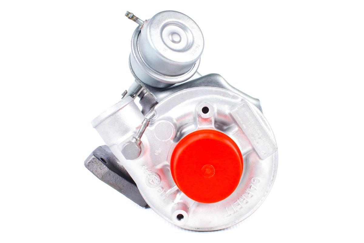 Turbosprężarka o numerze {numerglowny} po regeneracji w profesjonalnej pracowni regeneracji turbosprężarek przed nadaniem do zamawiającego