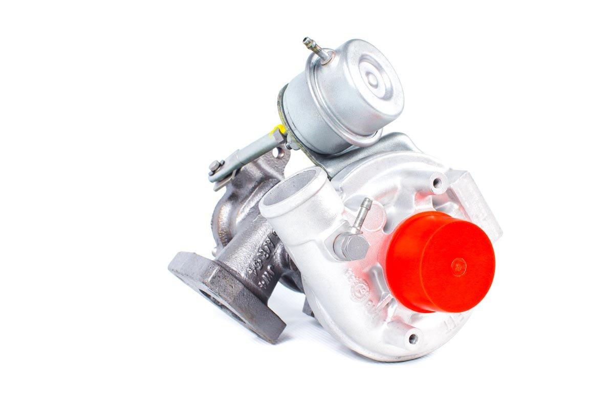 Turbosprężarka z numerem {numerglowny} po regeneracji w najwyższej jakości pracowni regeneracji turbo przed wysyłką do zamawiającego