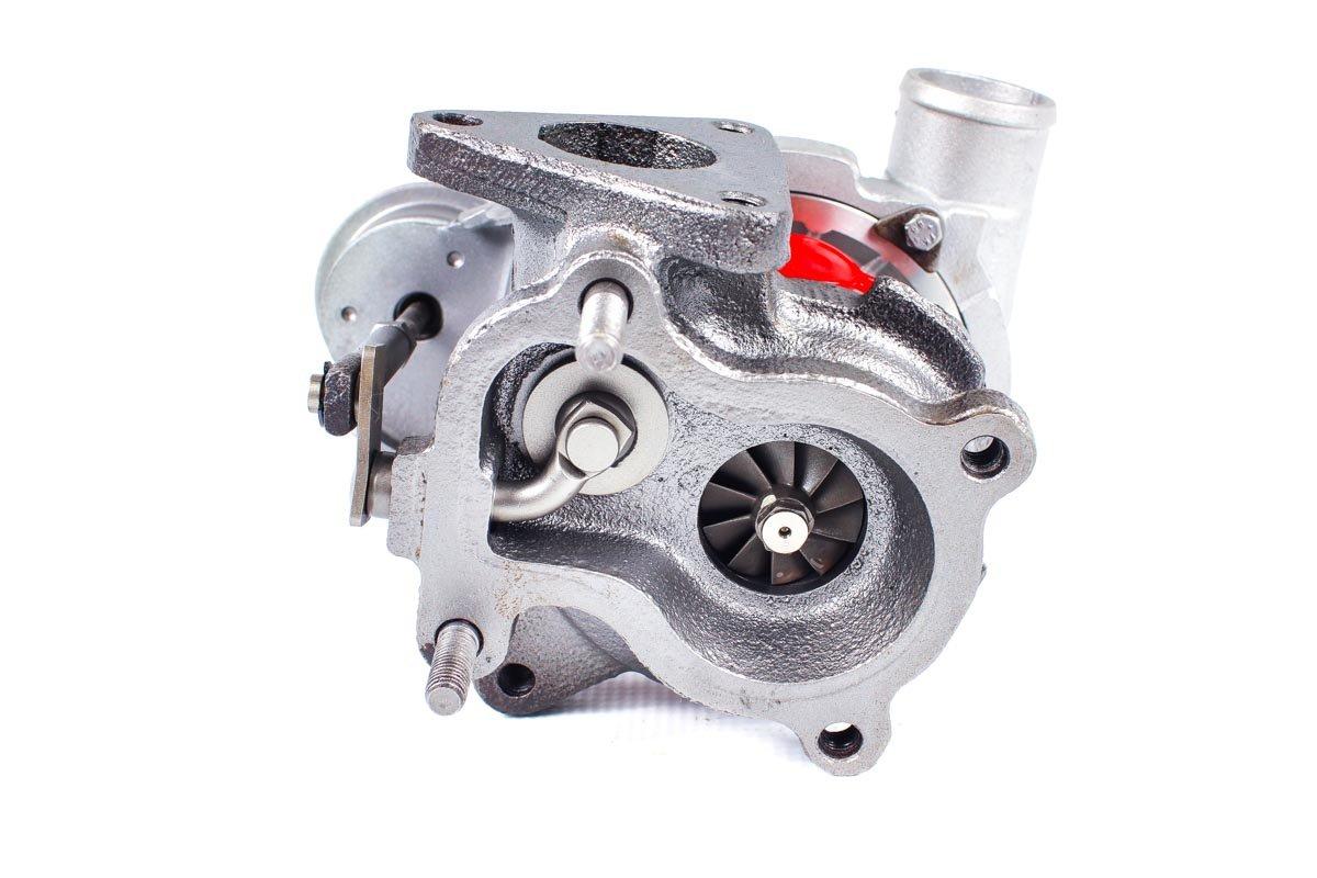 Turbosprężarka z numerem {numerglowny} po regeneracji w specjalistycznej pracowni regeneracji turbosprężarek przed wysłaniem do warsztatu