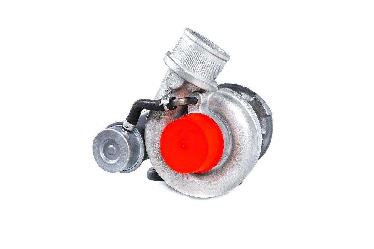 Turbosprężarka z numerem {numerglowny} po regeneracji w najwyższej jakości pracowni regeneracji turbin przed odesłaniem do kontrahenta