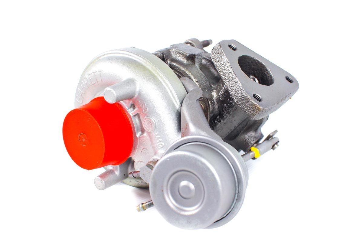 Turbosprężarka o numerze {numerglowny} po regeneracji w najwyższej jakości pracowni regeneracji turbosprężarek przed wysyłką do Klienta