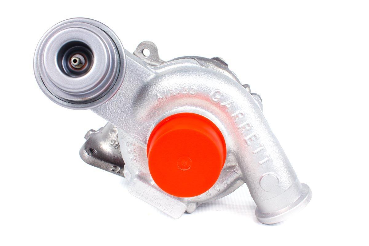 Turbosprężarka o numerze {numerglowny} po regeneracji w najwyższej jakości pracowni regeneracji turbosprężarek przed wysłaniem do zamawiającej firmy