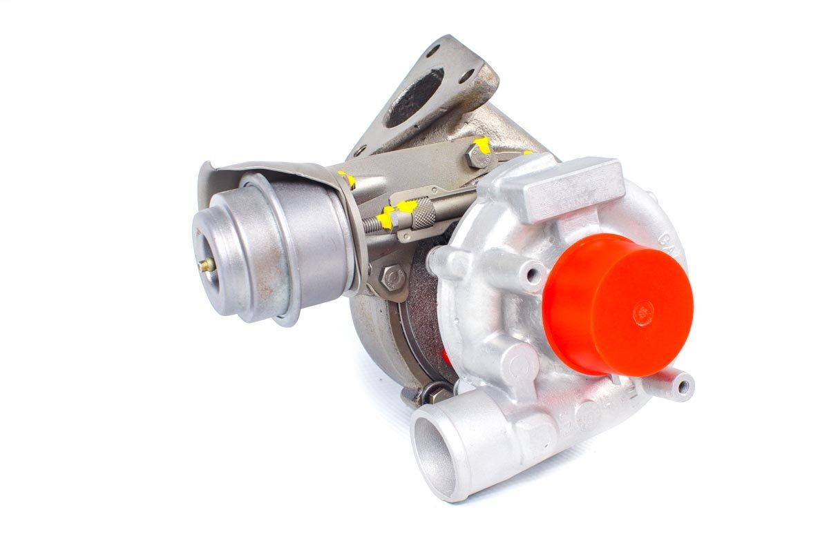 Turbosprężarka z numerem {numerglowny} po zregenerowaniu w profesjonalnej pracowni regeneracji turbosprężarek przed odesłaniem do kontrahenta