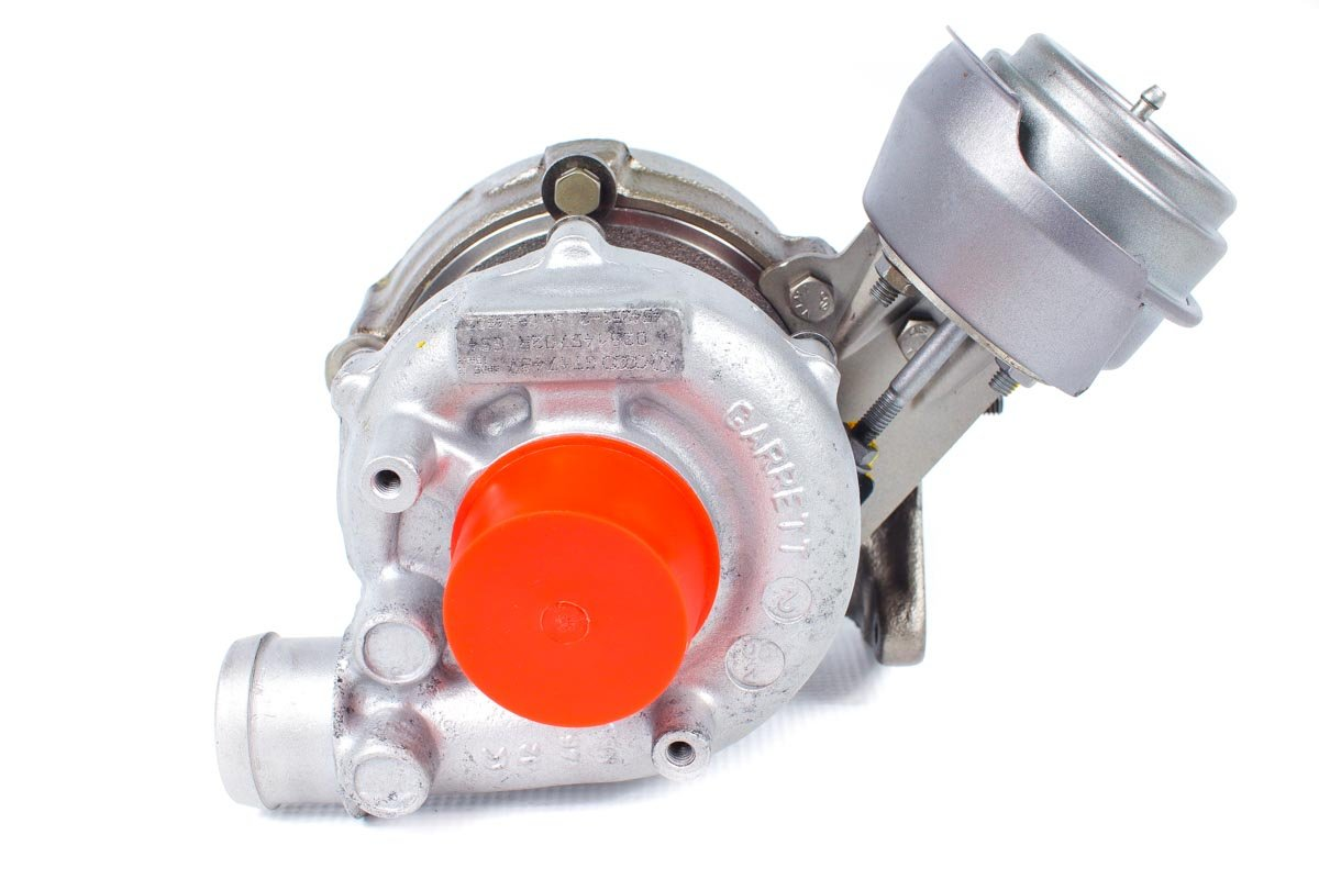 Turbosprężarka o numerze {numerglowny} po zregenerowaniu w profesjonalnej pracowni przed wysyłką do kontrahenta
