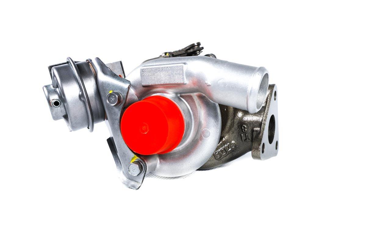 Turbosprężarka z numerem {numerglowny} po przeprowadzeniu regeneracji w najnowocześniejszej pracowni regeneracji turbosprężarek przed wysłaniem do zamawiającej firmy
