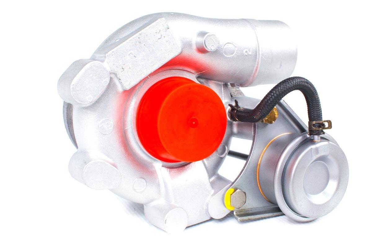 Turbosprężarka z numerem {numerglowny} po przeprowadzeniu regeneracji w najnowocześniejszej pracowni regeneracji turbosprężarek przed nadaniem do warsztatu samochodowego