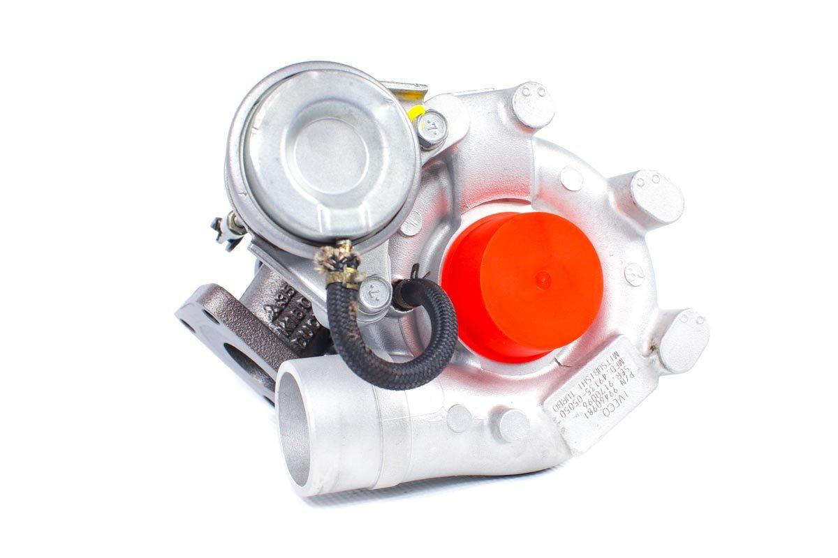 Turbosprężarka z numerem {numerglowny} po przeprowadzeniu regeneracji w najnowocześniejszej pracowni regeneracji turbo przed wysłaniem do Klienta