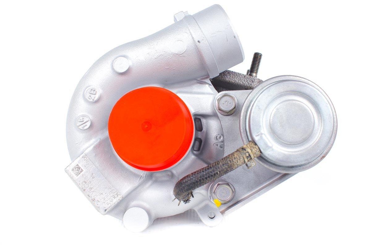 Turbosprężarka o numerze {numerglowny} po zregenerowaniu w najwyższej jakości pracowni regeneracji turbo przed nadaniem do kontrahenta