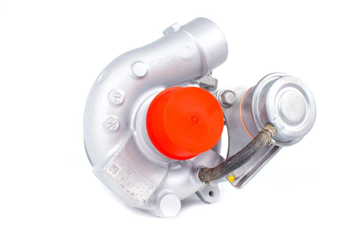 Turbosprężarka z numerem {numerglowny} po przeprowadzeniu regeneracji w najnowocześniejszej pracowni regeneracji turbin przed wysyłką do kontrahenta