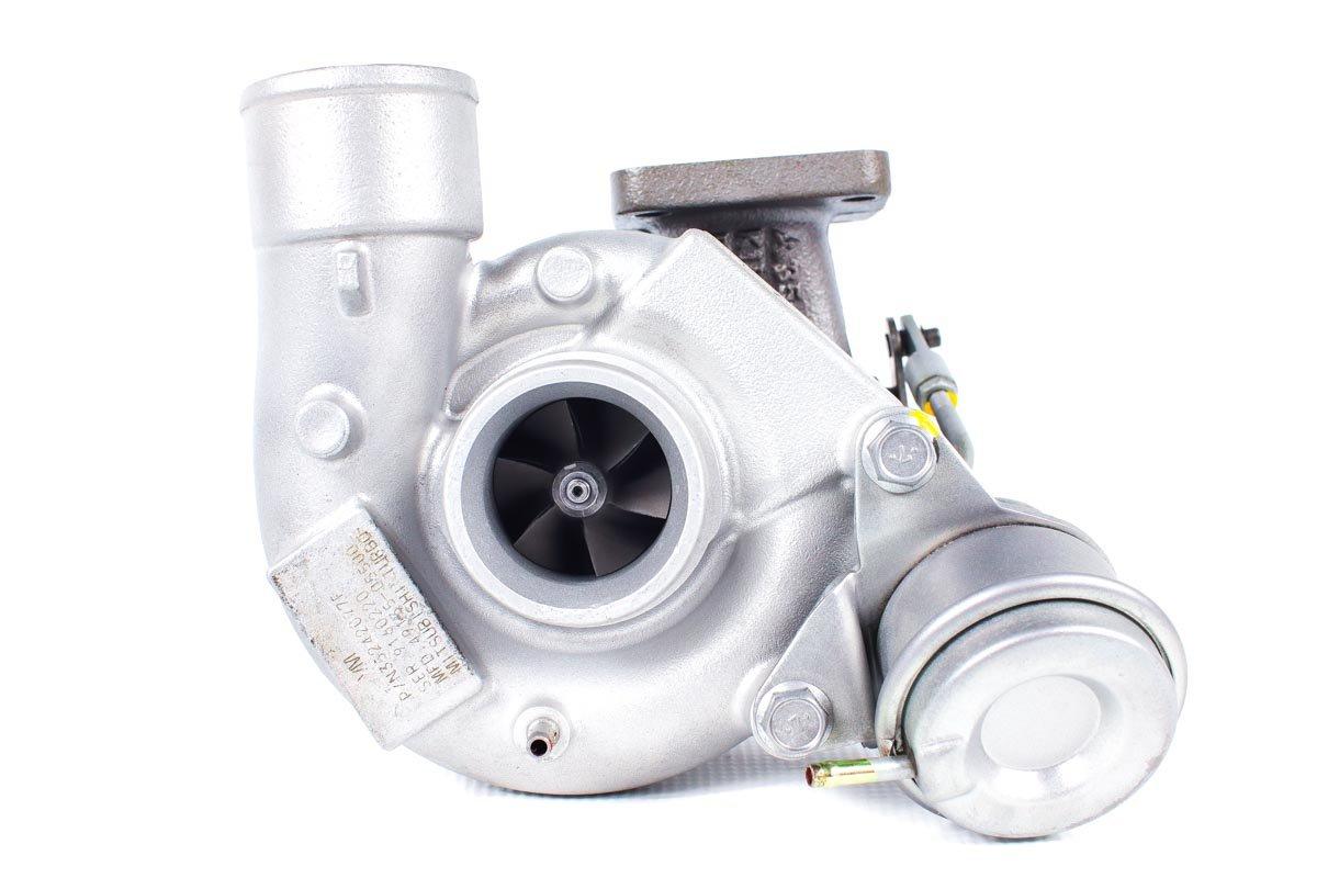 Turbosprężarka o numerze {numerglowny} po zregenerowaniu w najwyższej jakości pracowni regeneracji turbin przed wysyłką do Klienta