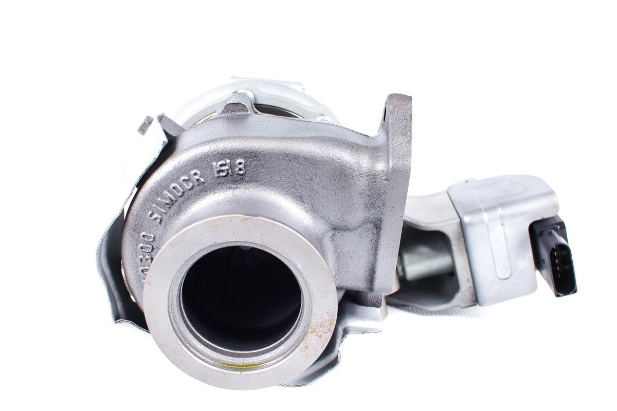 Turbo z numerem {numerglowny} po przywróceniu do pełnej sprawności w specjalistycznej pracowni regeneracji turbosprężarek przed wysyłką do zamawiającego