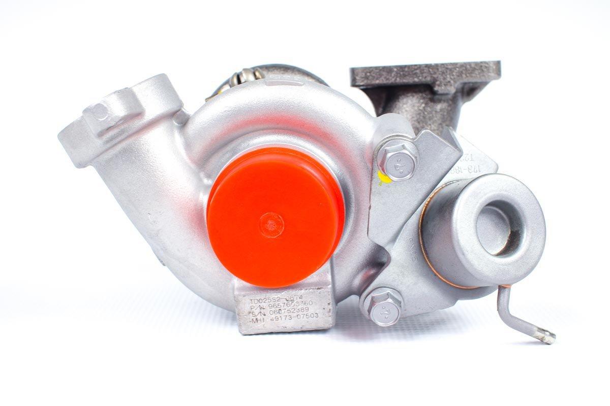 Turbosprężarka o numerze {numerglowny} po przeprowadzeniu regeneracji w najnowocześniejszej pracowni regeneracji turbosprężarek przed wysłaniem do warsztatu