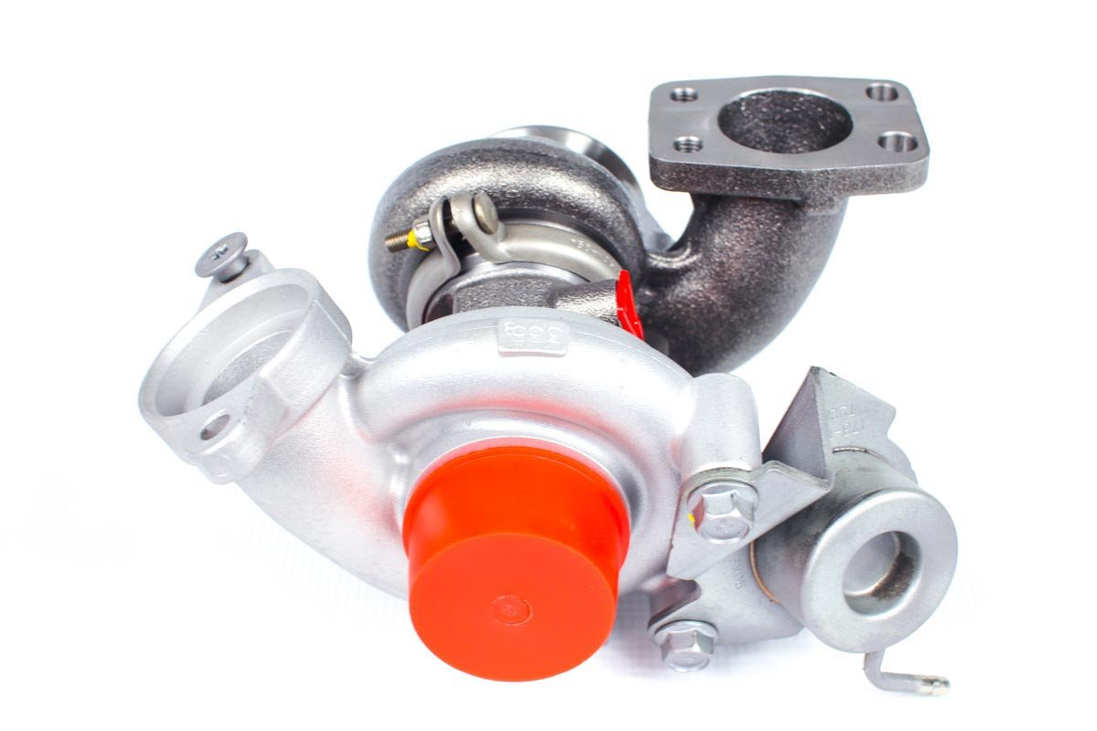 Turbosprężarka z numerem {numerglowny} po przeprowadzeniu regeneracji w specjalistycznej pracowni regeneracji turbosprężarek przed odesłaniem do warsztatu