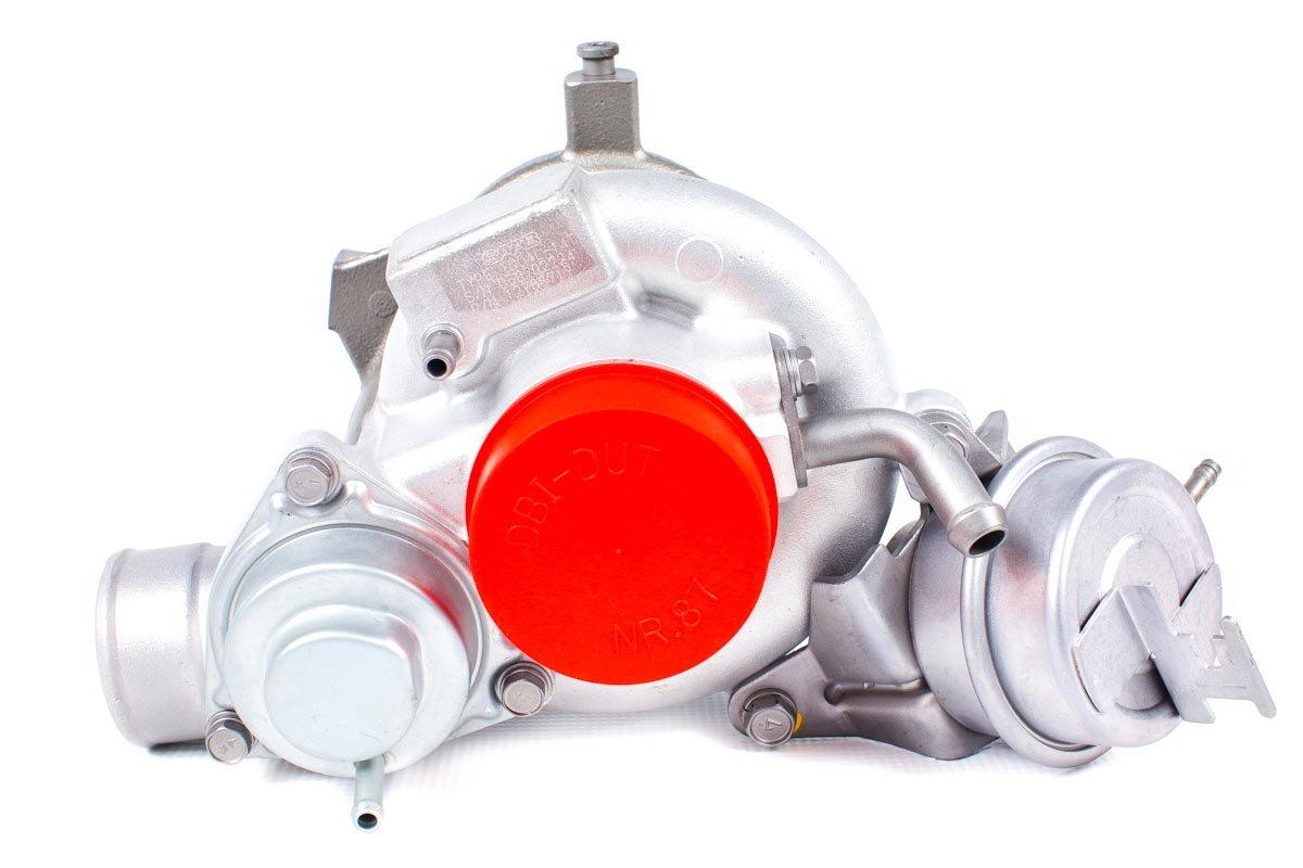 Turbosprężarka o numerze {numerglowny} po przeprowadzeniu regeneracji w specjalistycznej pracowni regeneracji turbo przed wysyłką do zamawiającego