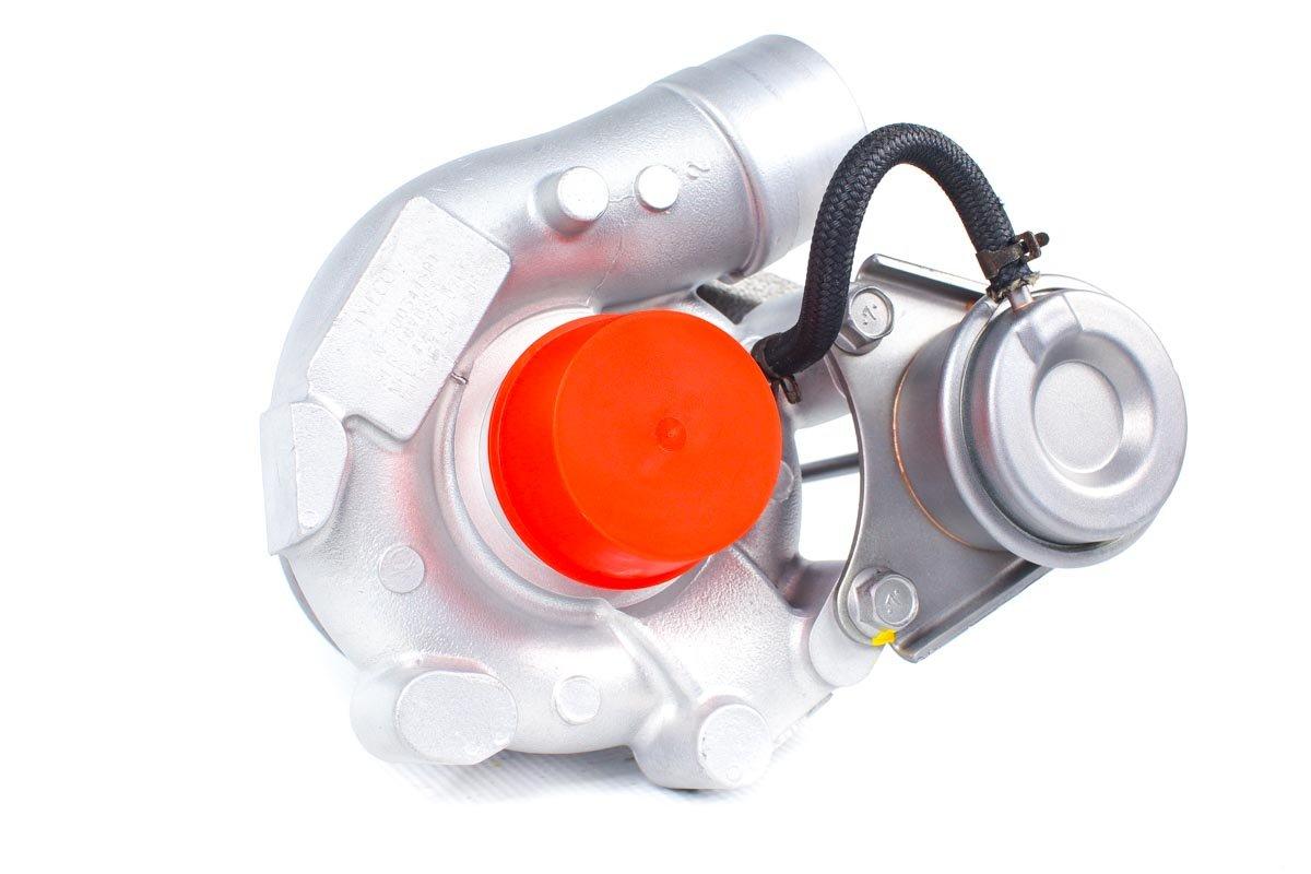 Turbosprężarka z numerem {numerglowny} po przeprowadzeniu regeneracji w profesjonalnej pracowni regeneracji turbin przed wysłaniem do Klienta