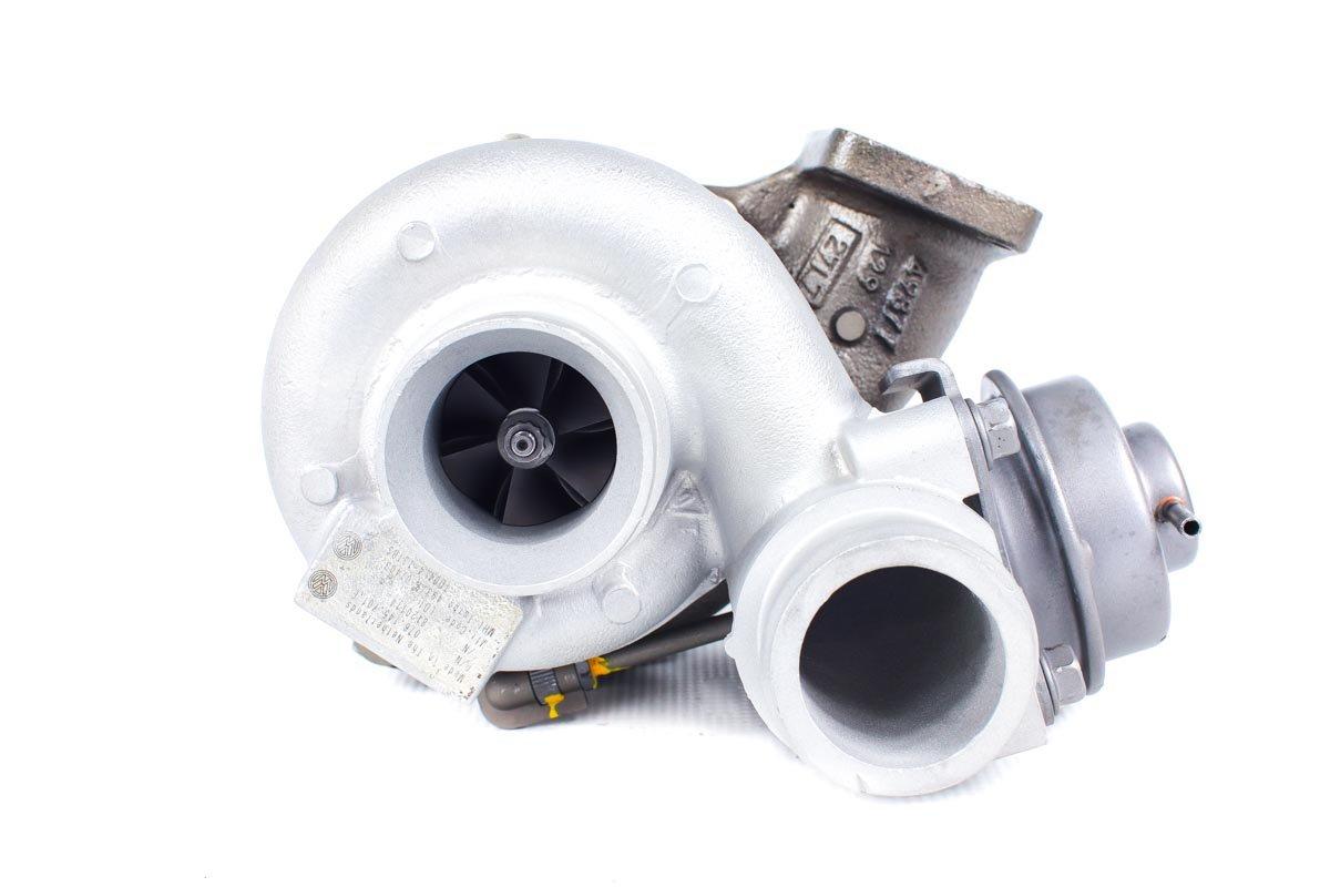 Turbosprężarka o numerze {numerglowny} po przeprowadzeniu regeneracji w specjalistycznej pracowni regeneracji turbin przed nadaniem do zamawiającej firmy
