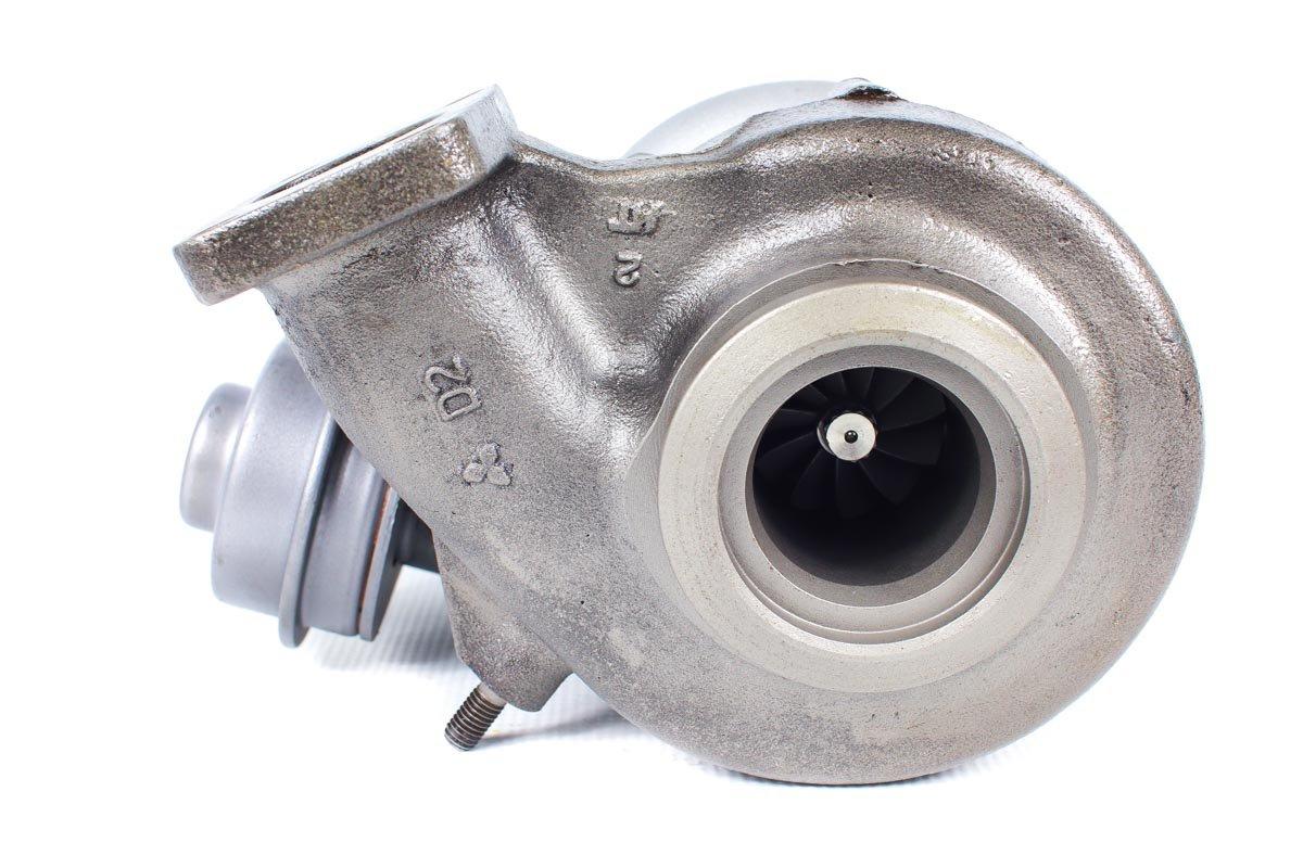 Turbo o numerze {numerglowny} po przywróceniu do pełnej sprawności w specjalistycznej pracowni regeneracji turbosprężarek przed wysłaniem do warsztatu samochodowego