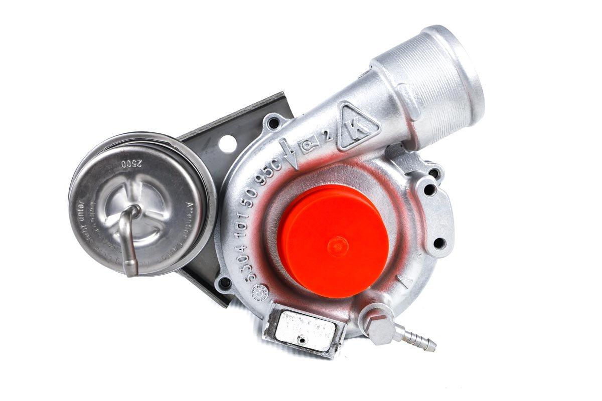 Turbosprężarka o numerze {numerglowny} po przeprowadzeniu regeneracji w profesjonalnej pracowni regeneracji turbin przed wysłaniem do Klienta