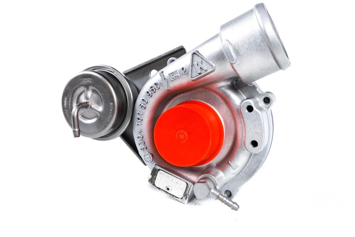 Turbosprężarka z numerem {numerglowny} po przeprowadzeniu regeneracji w najwyższej jakości pracowni regeneracji turbo przed odesłaniem do zamawiającego