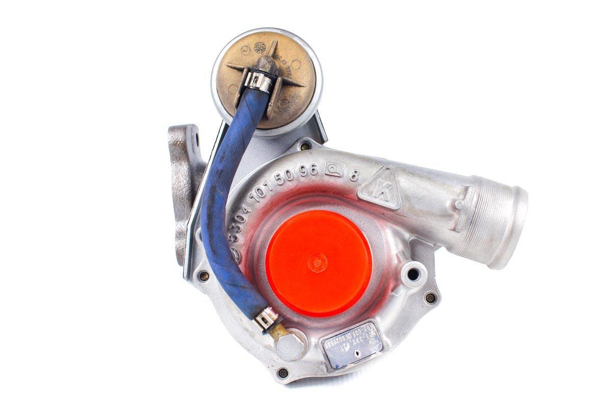 Turbosprężarka o numerze {numerglowny} po przeprowadzeniu regeneracji w najwyższej jakości pracowni przed wysłaniem do zamawiającego