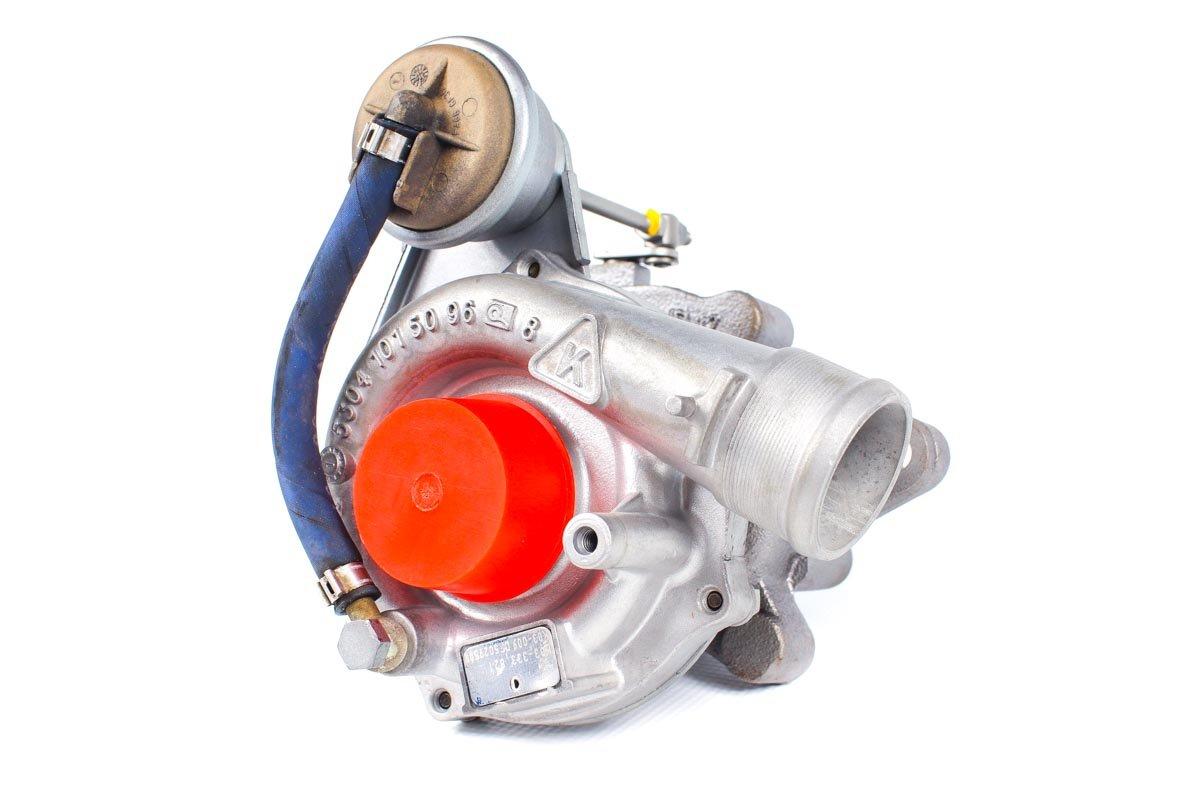 Turbina numer {numerglowny} po przywróceniu do pełnej sprawności w specjalistycznej pracowni regeneracji turbosprężarek przed wysłaniem do zamawiającego