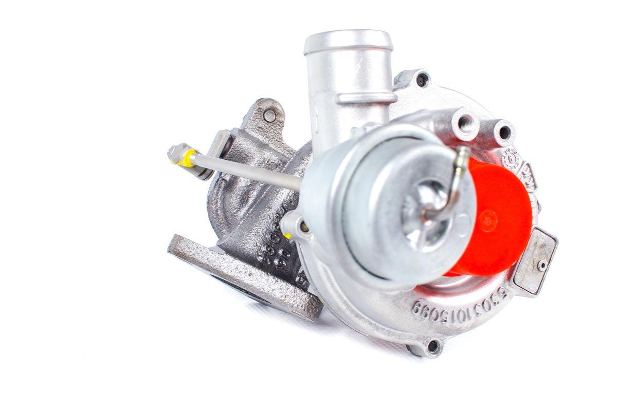 Turbosprężarka z numerem {numerglowny} po przywróceniu do pełnej sprawności w najnowocześniejszej pracowni regeneracji turbo przed wysłaniem do zamawiającej firmy