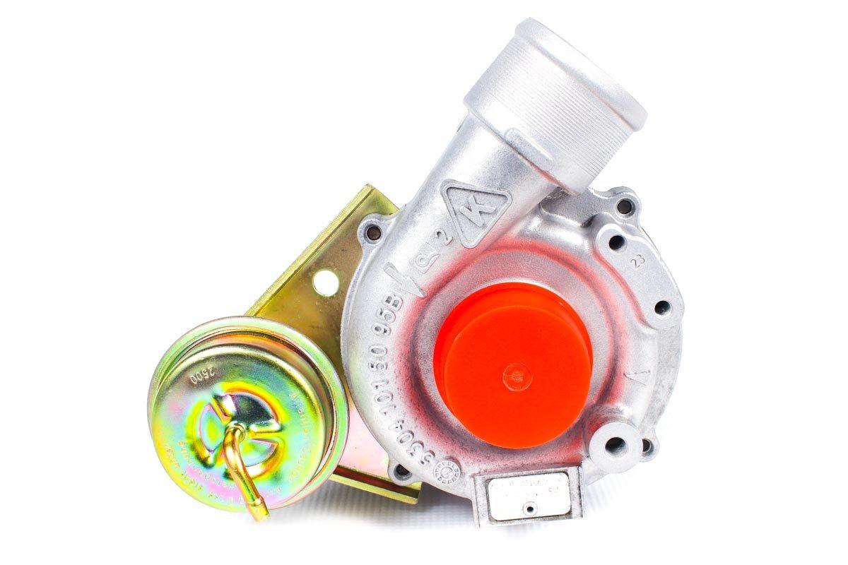 Turbosprężarka o numerze {numerglowny} po przeprowadzeniu regeneracji w najwyższej jakości pracowni regeneracji turbin przed wysłaniem do kontrahenta