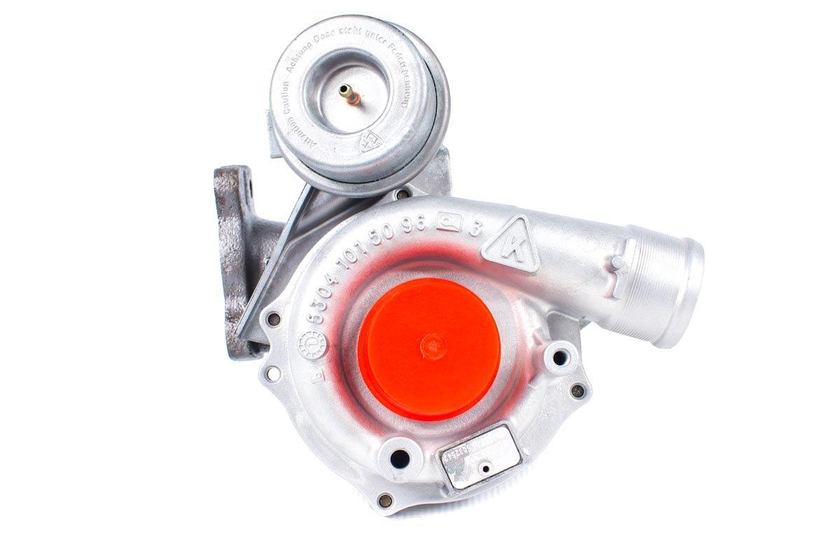 Turbosprężarka o numerze {numerglowny} po przywróceniu do pełnej sprawności w najnowocześniejszej pracowni regeneracji turbosprężarek przed wysłaniem do zamawiającego