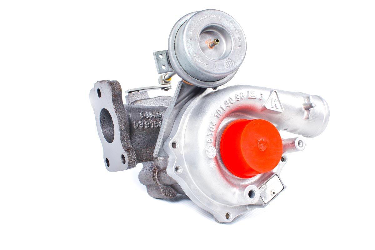 Turbosprężarka z numerem {numerglowny} po przywróceniu do pełnej sprawności w specjalistycznej pracowni regeneracji turbosprężarek przed odesłaniem do zamawiającego