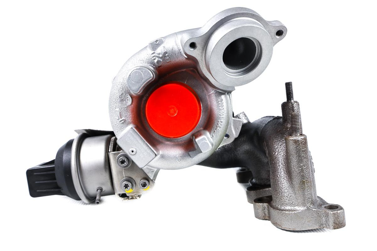 Turbosprężarka o numerze {numerglowny} po przywróceniu do pełnej sprawności w specjalistycznej pracowni regeneracji turbosprężarek przed wysyłką do zamawiającej firmy