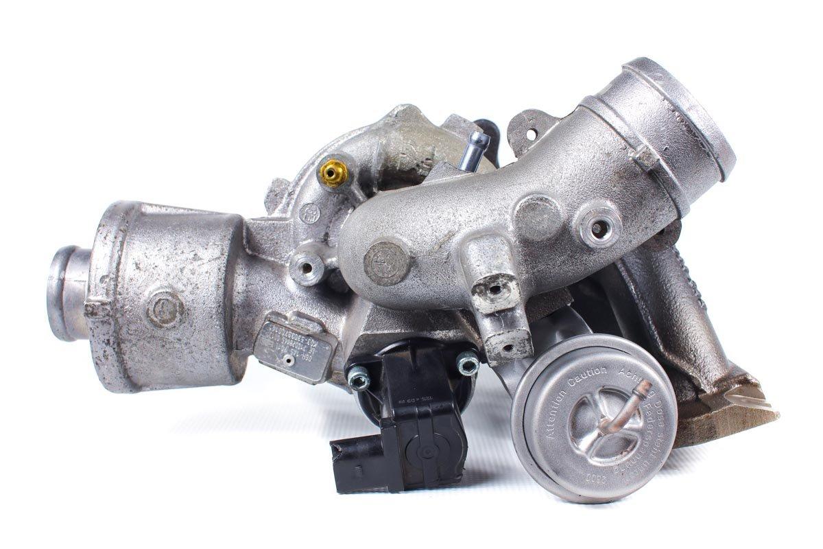 Turbosprężarka o numerze {numerglowny} po przywróceniu do pełnej sprawności w specjalistycznej pracowni regeneracji turbo przed odesłaniem do zamawiającej firmy