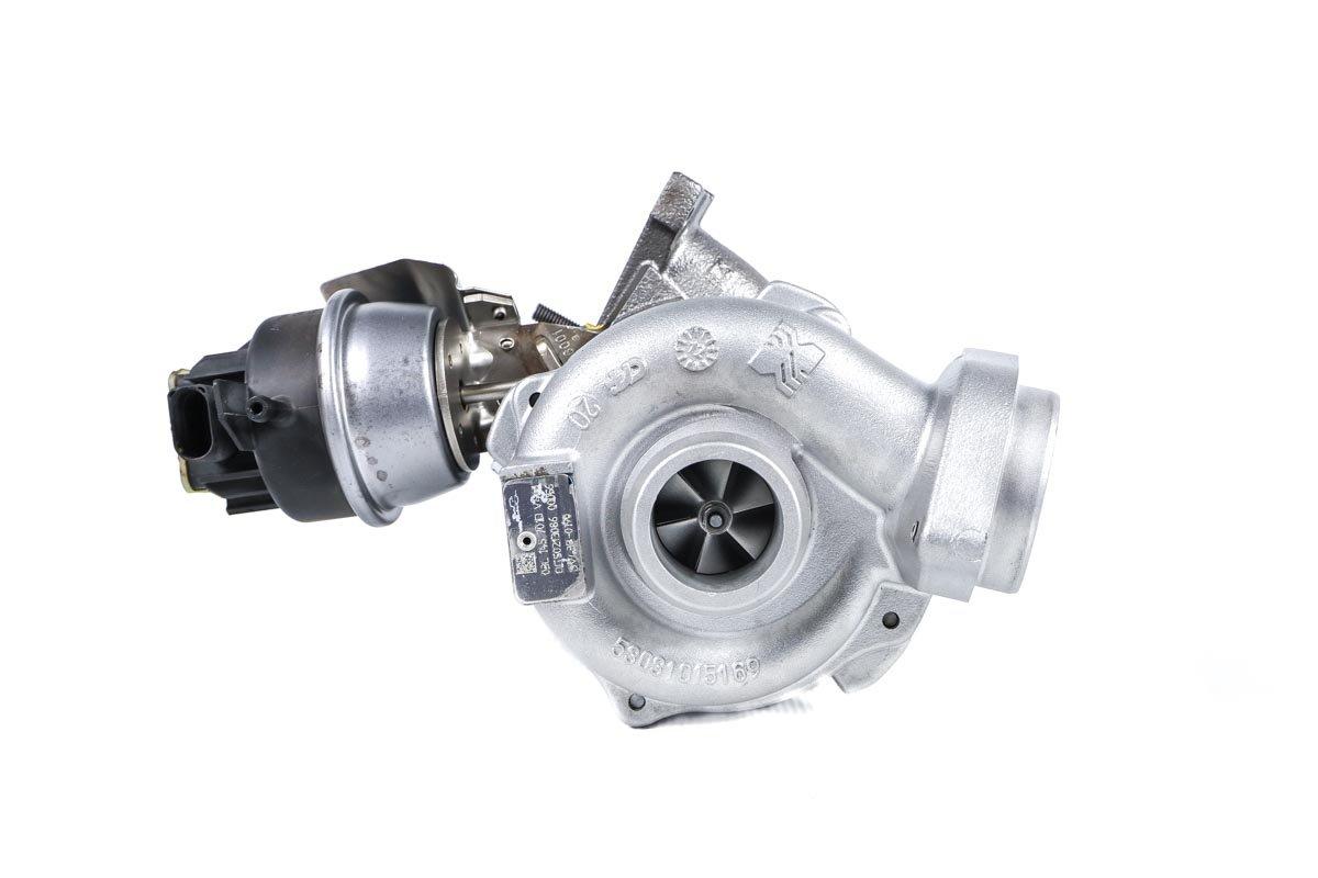 Turbosprężarka z numerem {numerglowny} po regeneracji w najnowocześniejszej pracowni regeneracji turbin przed wysyłką do zamawiającej firmy