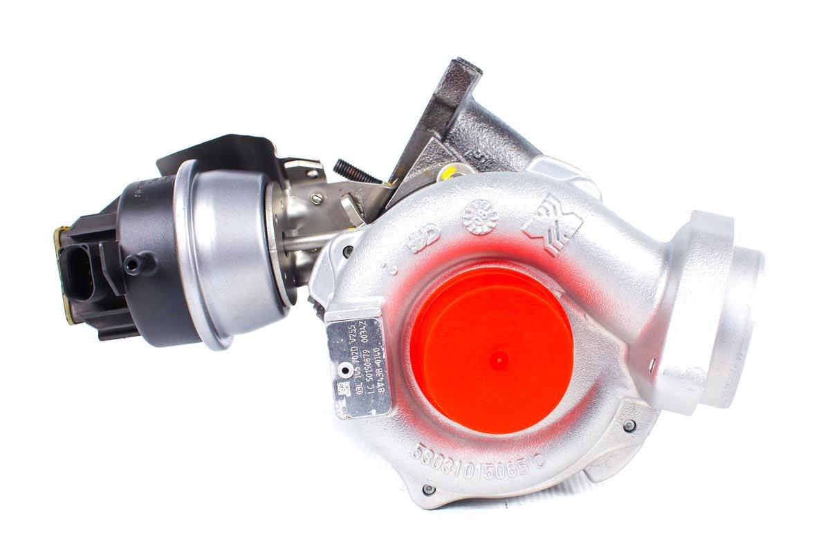 Turbosprężarka o numerze {numerglowny} po przywróceniu do pełnej sprawności w specjalistycznej pracowni regeneracji turbo przed wysyłką do zamawiającego