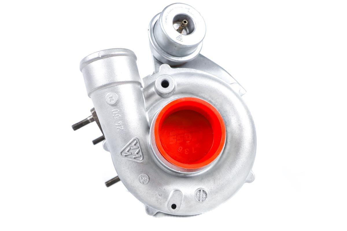 Turbosprężarka z numerem {numerglowny} po regeneracji w najnowocześniejszej pracowni regeneracji turbo przed nadaniem do kontrahenta