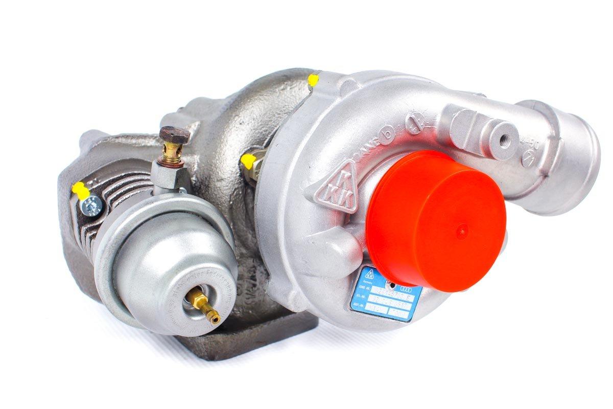 Turbina numer {numerglowny} po naprawie w najnowocześniejszej pracowni regeneracji turbosprężarek przed nadaniem do warsztatu samochodowego