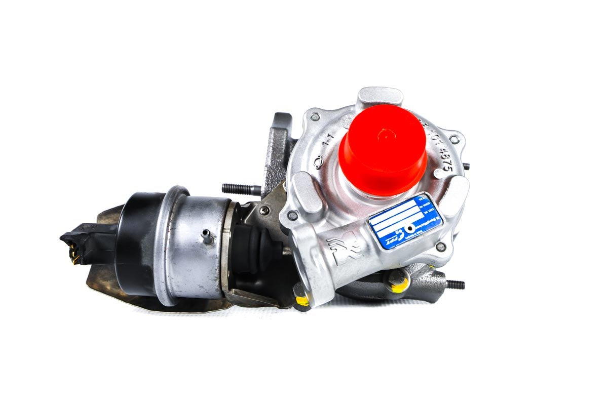 Turbosprężarka o numerze {numerglowny} po przywróceniu do pełnej sprawności w profesjonalnej pracowni regeneracji turbosprężarek przed wysyłką do zamawiającej firmy