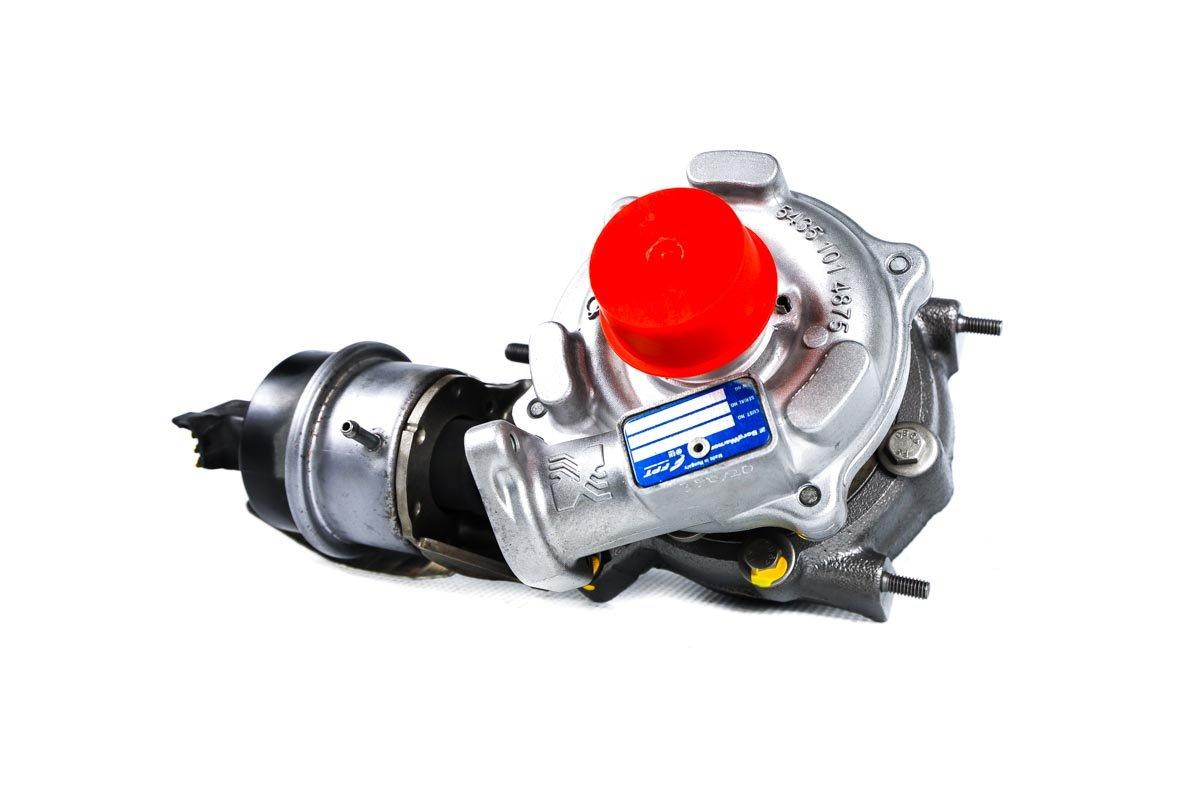 Turbosprężarka z numerem {numerglowny} po przywróceniu do pełnej sprawności w najwyższej jakości pracowni regeneracji turbosprężarek przed nadaniem do zamawiającej firmy
