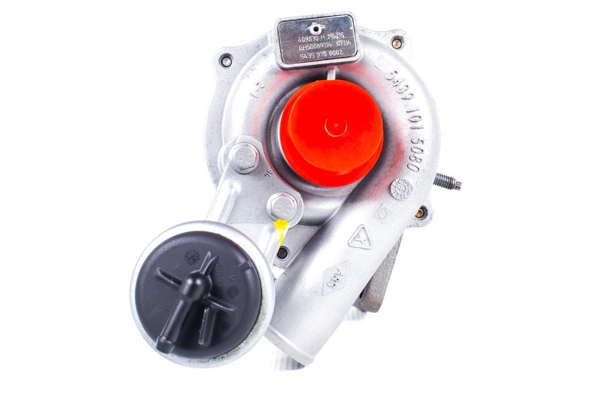 Turbosprężarka o numerze {numerglowny} po przywróceniu do pełnej sprawności w profesjonalnej pracowni regeneracji turbosprężarek przed odesłaniem do kontrahenta